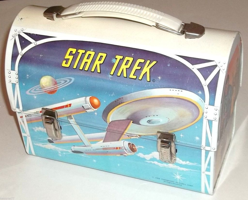 A photo of the 1968 Aladdin Star Trek lunchbox
