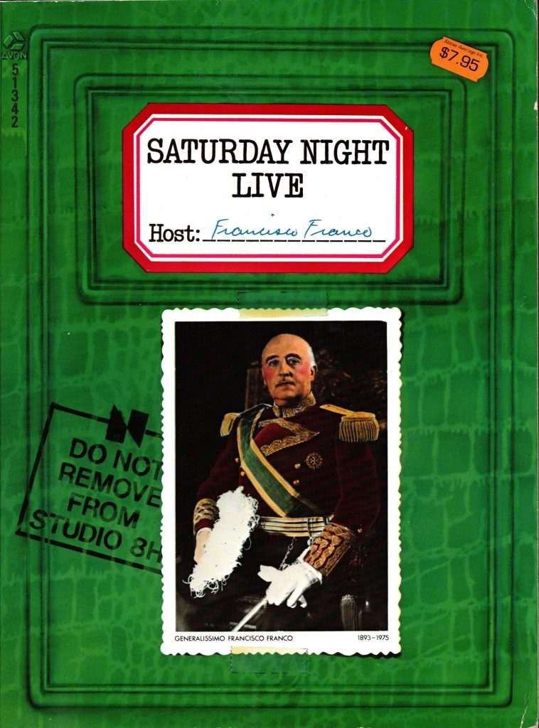 The cover of the book Saturday Night Live
