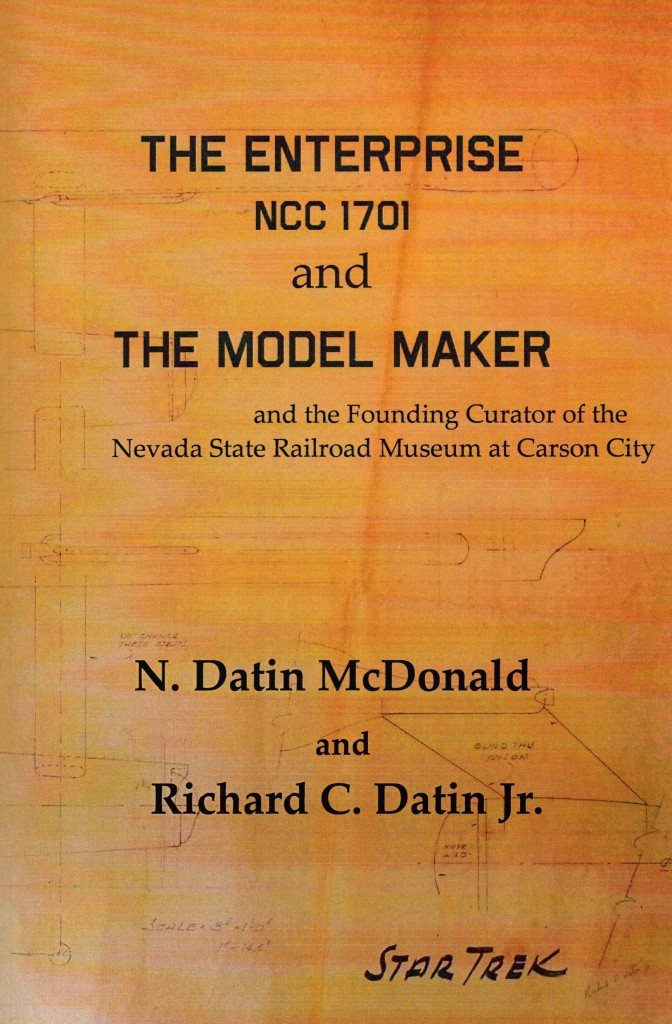 The cover of N. Datin McDonald's book Model Maker.